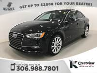 Pre-Owned 2015 Audi A3 2.0T Premium Plus | AWD | Leather | Sunroof | Navigation AWD 4dr Car