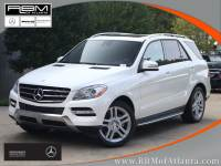 Certified Pre-Owned 2015 Mercedes-Benz M-Class ML 250 AWD 4MATIC® SUV