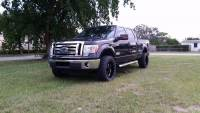2010 Ford F-150 FORD F-150 CREW/ CAB LIFTED 35'' LEATHER