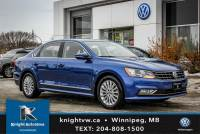 Certified Pre-Owned 2016 Volkswagen Passat w/ Leather/Backup Cam/Sunroof/Remote Start 0.99% Financing OAC FWD 4dr Car