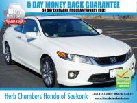 Certified Used 2015 Honda Accord 3.5 EX-L V6 Coupe in Seekonk, MA