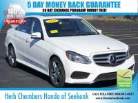 Used 2015 Mercedes-Benz E-Class E350 4MATIC Sport w/ Navigation Sedan in Seekonk, MA