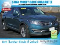 Used 2016 Lincoln MKX Select AWD SUV in Seekonk, MA