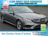 Used 2016 Mercedes-Benz E-Class E350 4MATIC Sport w/ Navigation Sedan in Seekonk, MA