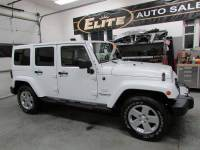 2011 Jeep Wrangler Unlimited 4x4 Sahara 4dr SUV