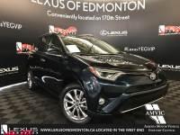 Pre-Owned 2017 Toyota RAV4 Platinum All Wheel Drive 4 Door Sport Utility