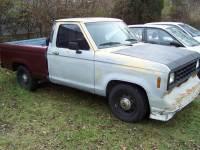 1986 Ford Ranger 2dr Standard Cab SB