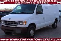 2001 Ford E-Series Cargo E-150 3dr Cargo Van