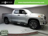Certified Pre-Owned 2014 TOYOTA Tundra DLX Four Wheel Drive Double Cab