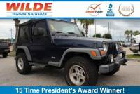 Pre-Owned 2006 Jeep Wrangler 2dr Sport Sport Utility