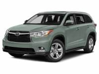 2015 Toyota Highlander Limited V6 SUV All-wheel Drive