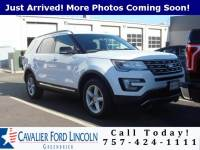2016 Ford Explorer XLT SUV V6 24V MPFI DOHC Flexible Fuel