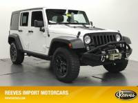 Pre-Owned 2015 Jeep Wrangler Unlimited 4WD 4dr Willys Wheeler 4WD