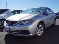 Certified Pre-Owned 2015 Honda Civic LX FWD LX 4dr Sedan CVT