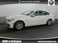 2014 BMW 535i Sedan 535i Sedan Rear-wheel Drive