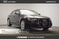 Certified Pre-Owned 2015 Audi A6 3.0T Sedan in Fairfield, CT