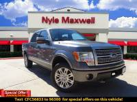 DEALER CERTIFIED PRE-OWNED 2012 FORD F-150 PLATINUM 4WD