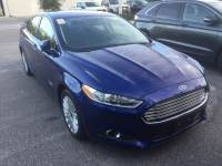 2016 Ford Fusion Energi SE Luxury Sedan I-4 cyl