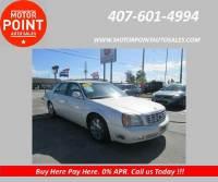 2001 Cadillac DeVille DTS 4dr Sedan