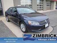2015 Volkswagen Passat 4dr Sdn 1.8T Auto Wolfsburg Ed Pzev Car in Madison, WI