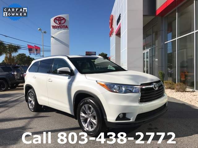 Certified Pre-Owned 2015 Toyota Highlander XLE V6 AWD