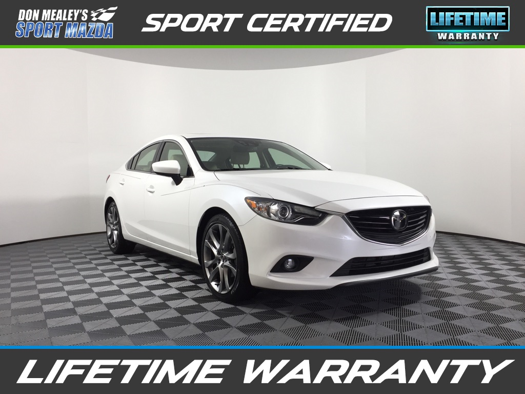Pre-Owned 2015 Mazda6 i Grand Touring FWD 4D Sedan
