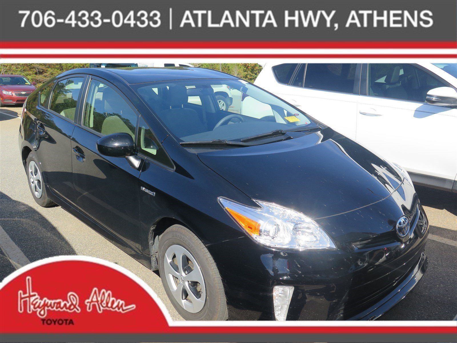 Certified Pre-Owned 2015 Toyota Prius Four FWD Hatchback