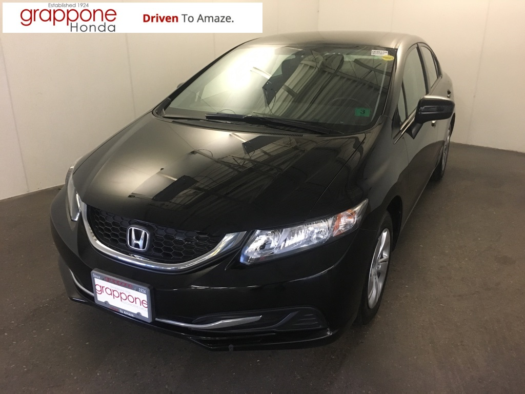 Pre-Owned 2015 Honda Civic LX FWD 4D Sedan
