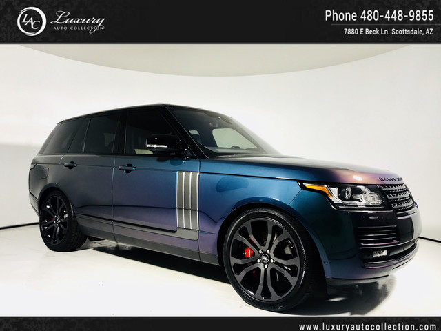 2017 Land Rover Range Rover SV Autobiography Dynamic | Special Order | SV | 16 18 With Navigation