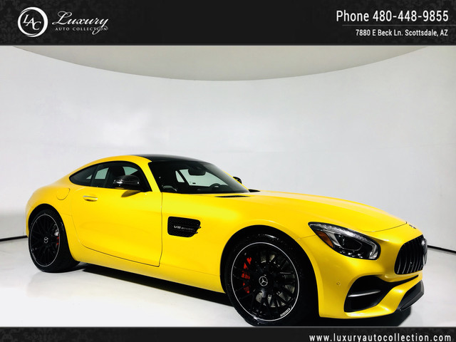 2018 Mercedes-Benz AMG® GT AMG® GT S | $170,320 MSRP | Dynamic Plus | Exclusive Int & Ext Pkg | Lane Tracking | 17 16 Rear Wheel Drive Coupe