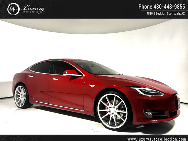 2016 Tesla Model S P90D | Custom Wheels | Autopilot | Smart Suspension | 17 15 With Navigation