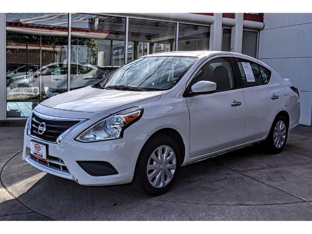 USED 2016 NISSAN VERSA 1.6 FWD SEDAN