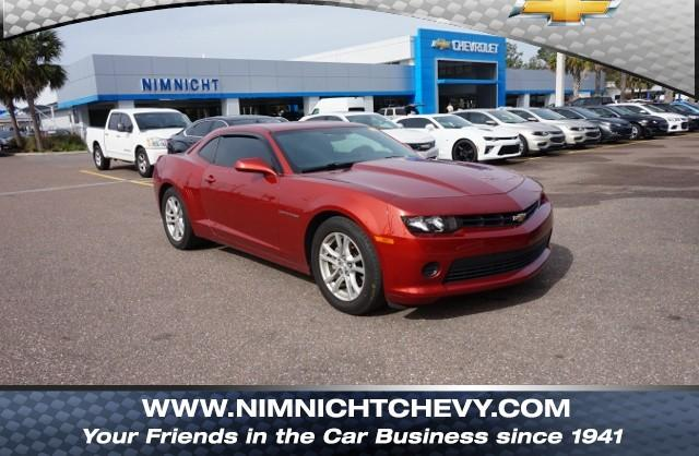 Certified Pre-Owned 2015 Chevrolet Camaro 2dr Cpe LS w/2LS RWD 2dr Car