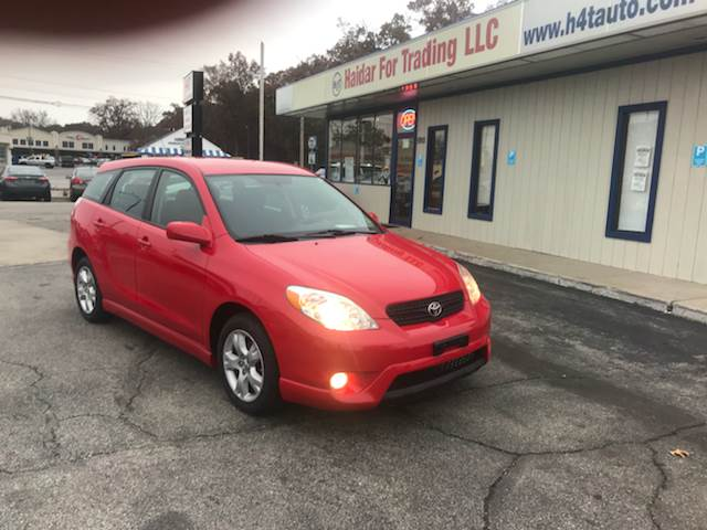 2008 Toyota Matrix XR 4dr Wagon 5M