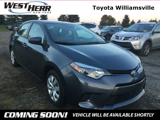 2015 Toyota Corolla LE Sedan For Sale - Serving Amherst