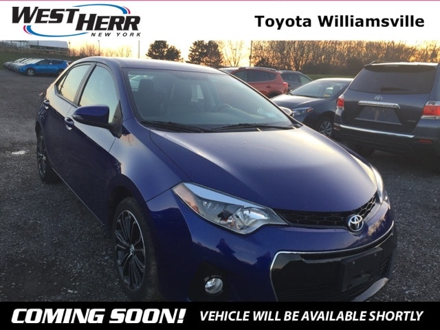 2015 Toyota Corolla S Plus Sedan For Sale - Serving Amherst