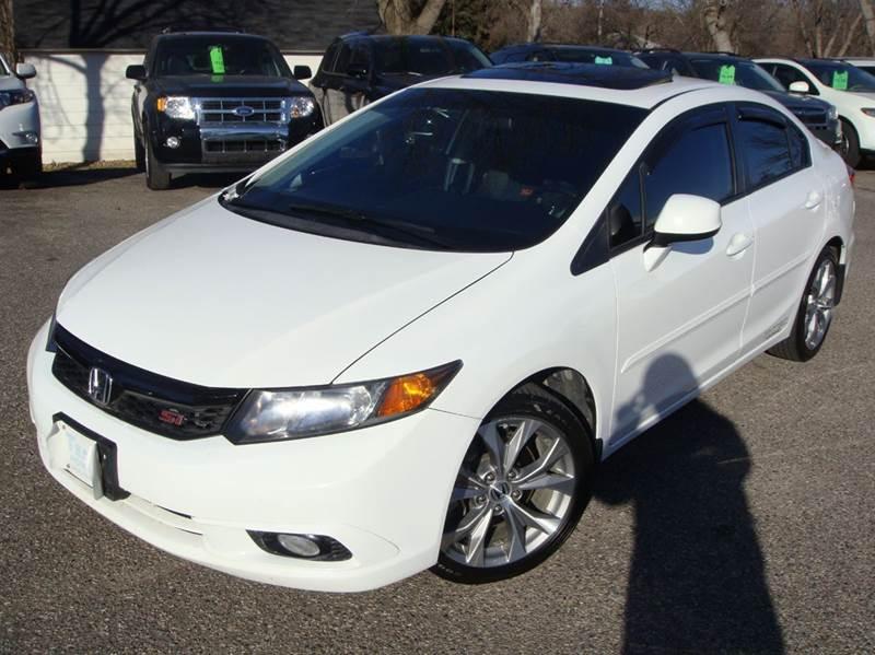 2012 Honda Civic Si 4dr Sedan