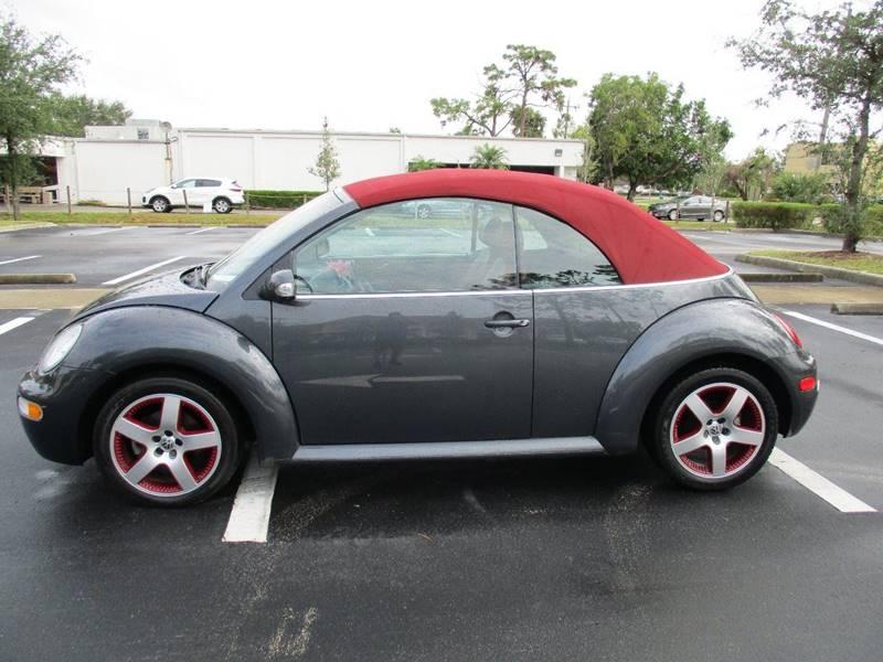 2005 Volkswagen New Beetle GLS 2dr Convertible