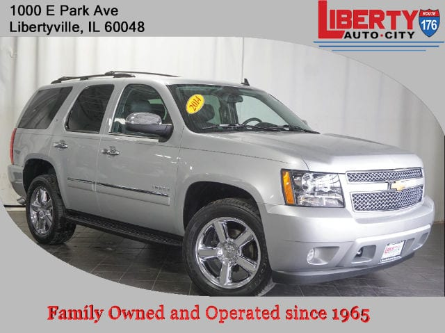 Used 2014 Chevrolet Tahoe LTZ SUV in Libertyville