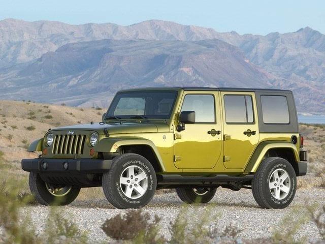 Used 2009 Jeep Wrangler Unlimited X SUV in Libertyville