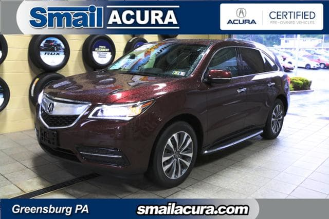 Photo Pre-Owned 2016 Acura MDX in Greensburg, PA