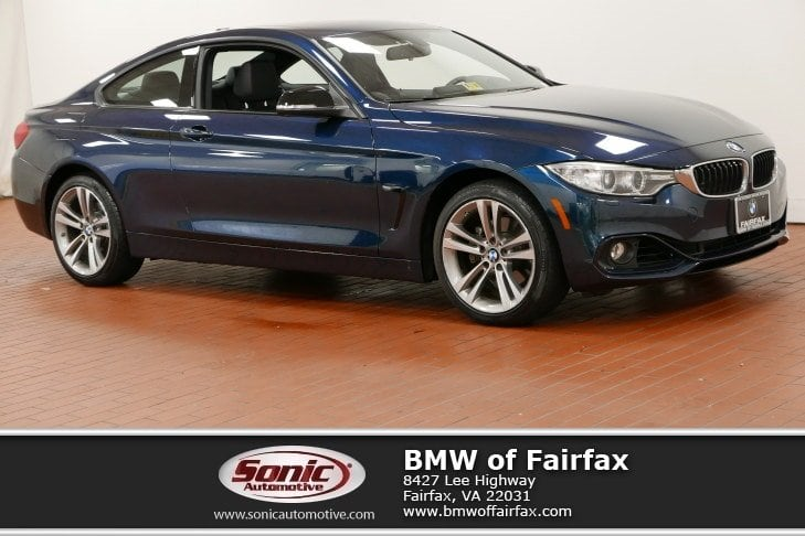 Photo Certified Used 2014 BMW 428i xDrive Coupe in Fairfax, VA