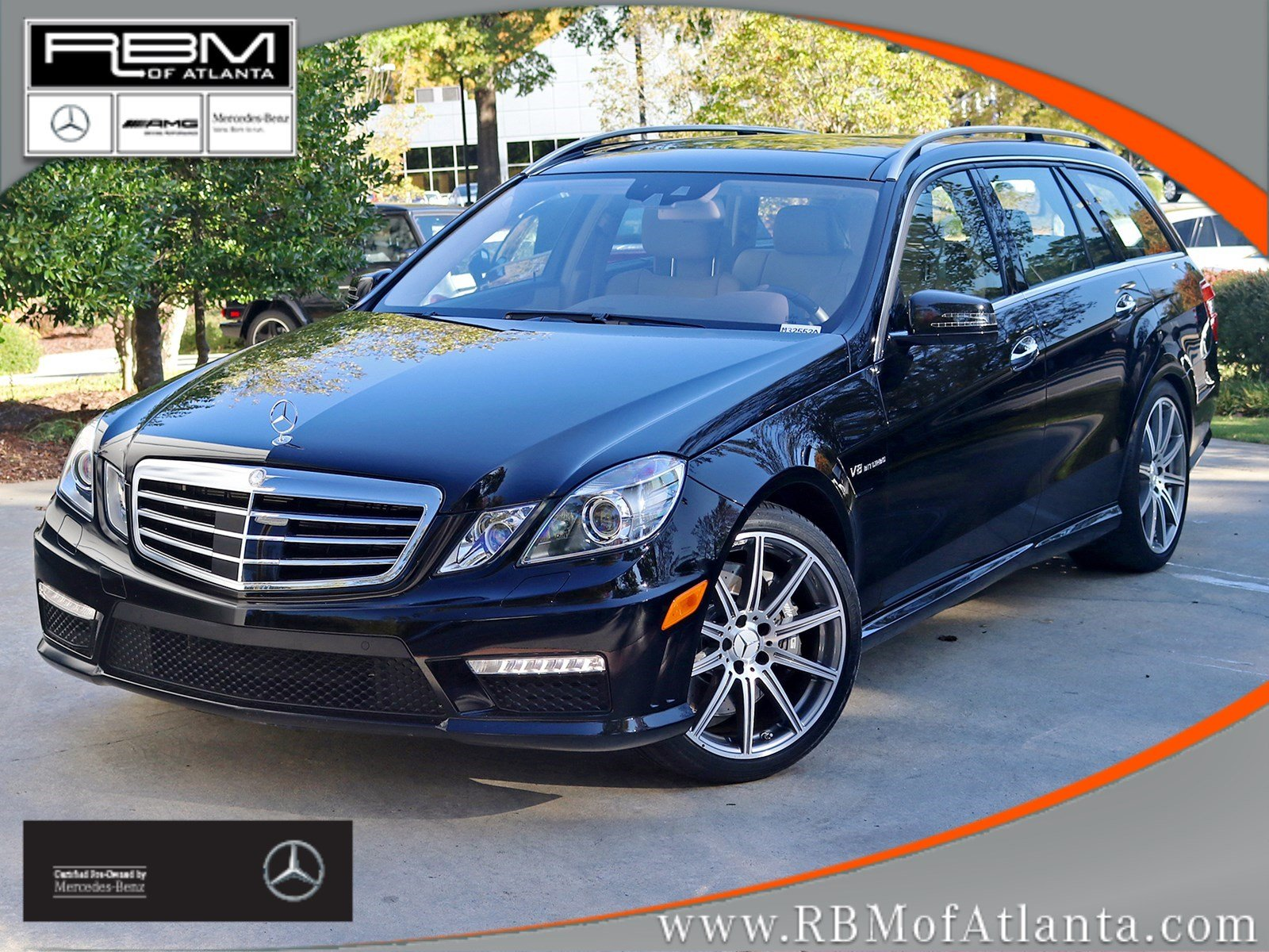 Certified Pre-Owned 2012 Mercedes-Benz E 63 S AMG® Wagon