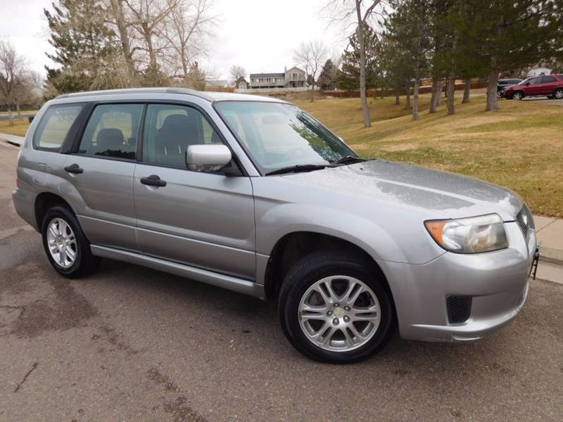 2008 Subaru Forester Sports 2.5 X