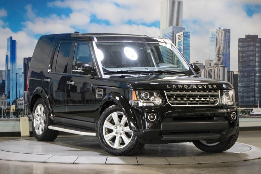 Used 2016 Land Rover LR4 HSE for sale near Chicago