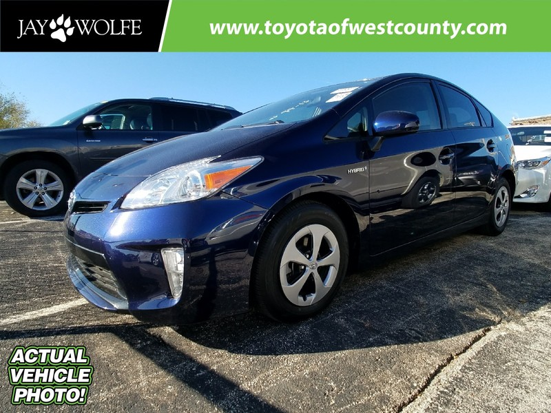 Certified Pre-Owned 2014 TOYOTA PRIUS 5DR HB TWO Front Wheel Drive Hatchback