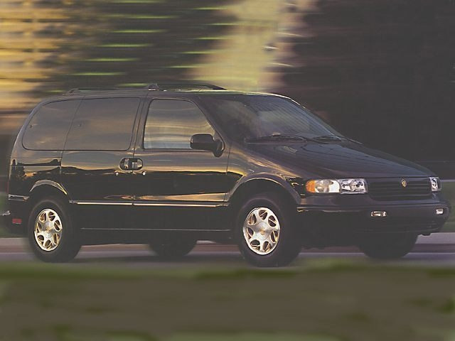 1998 Mercury Villager Van Passenger Van