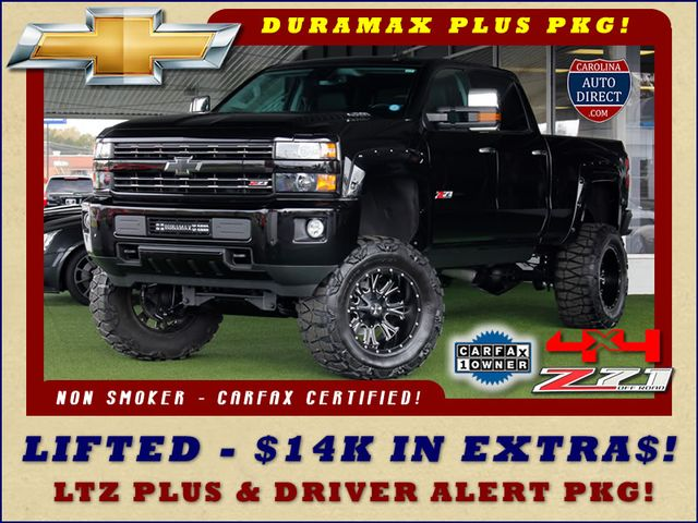Photo 2015 Chevrolet Silverado 2500HD LTZ PLUS Crew Cab 4x4 Z71 - LIFTED CUSTOM SPORT
