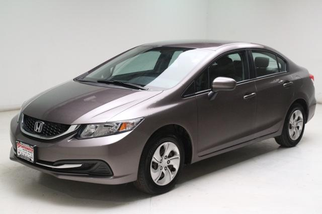 Used 2015 Honda Civic 4dr CVT LX in Brunswick, OH, near Cleveland