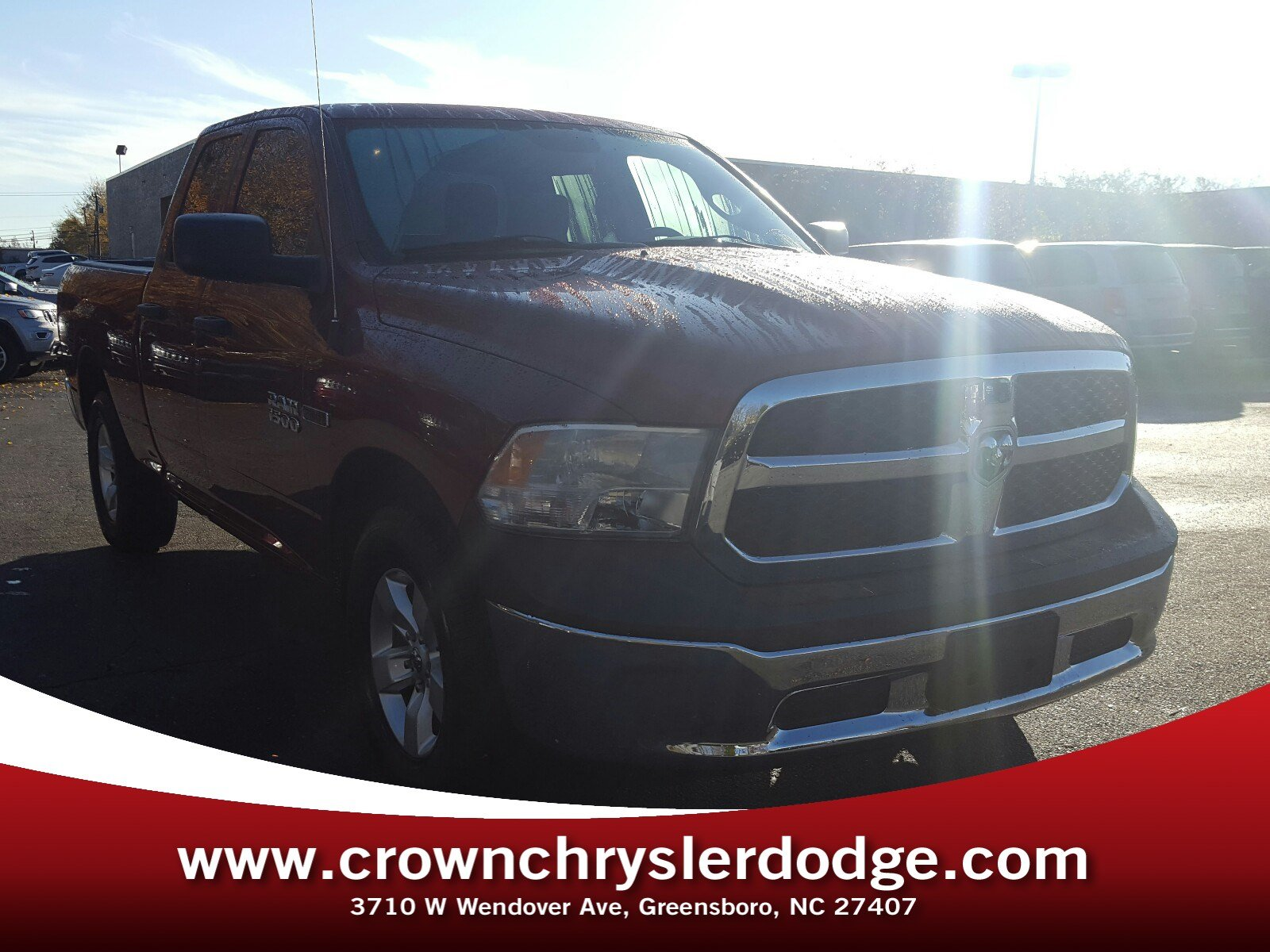 Pre-Owned 2015 Ram 1500 Truck Quad Cab in Greensboro NC